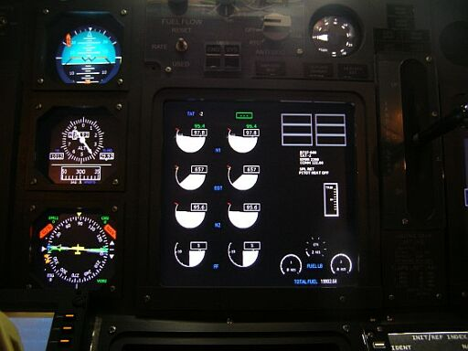 Boeing 737NG standby instruments
