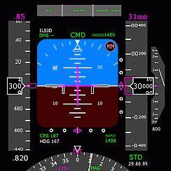 Cockpit panels for MS Flight Simulator